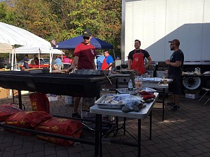 Our grill masters enjoyed serving all our guests